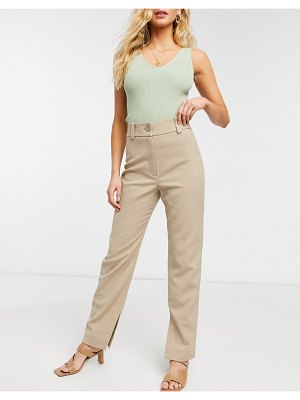 Other Stories &  skinny fit pants in beige-neutral