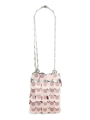 Paco Rabanne mini sparkle 1969 iconic crossbody bag