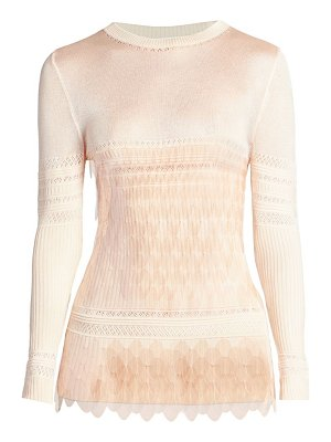 Paco Rabanne sequin knit sweater
