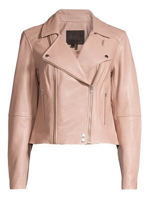 Paige Jeans fontana leather moto jacket
