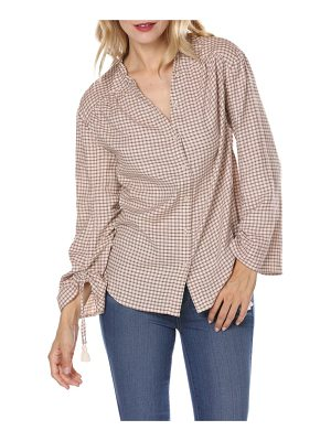 PAIGE torin check blouse