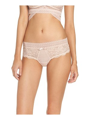 PALINDROME kitty lace thong