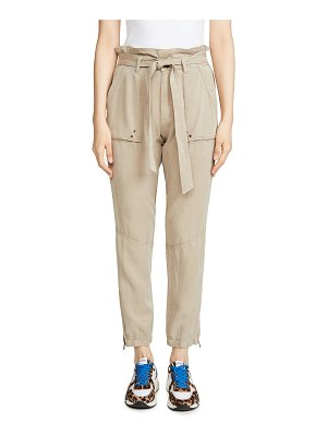 Pam & Gela pants with folded waist