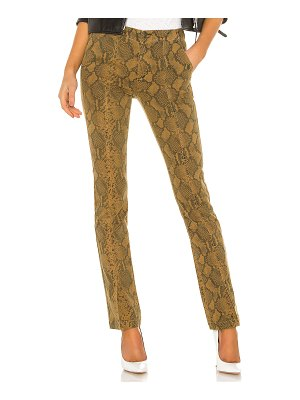 Pam & Gela seamed snake baby boot pant
