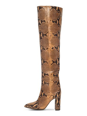 Paris Texas 100mm leather over-the-knee boots