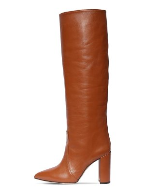 Paris Texas 100mm leather tall boots