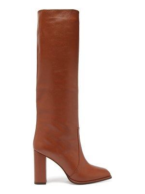 Paris Texas knee-high leather boots