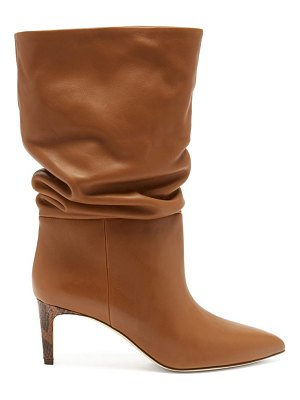 Paris Texas slouchy leather boots
