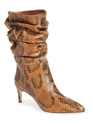 Paris Texas slouchy pointed toe boot