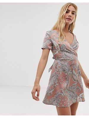 Parisian paisley print dress