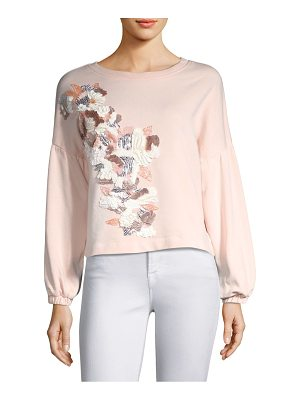 PARKER Berniece Applique Blouse