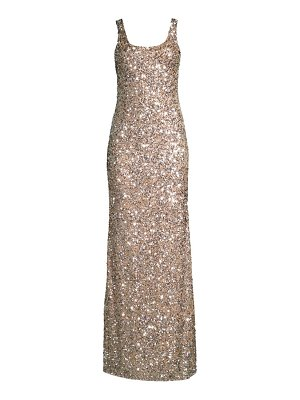 Parker Black nicolette sequin bodycon gown