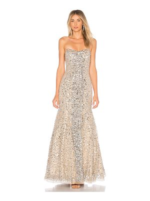 PARKER BLACK Renee Embellished Gown