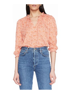 Parker Brighton Printed Button-Front Blouse