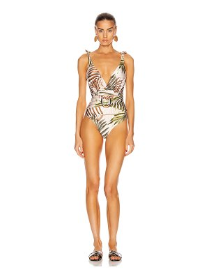 PatBO palmeira belted one piece