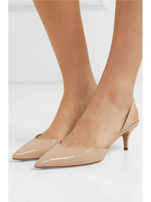 Paul Andrew rhea patent-leather slingback pumps