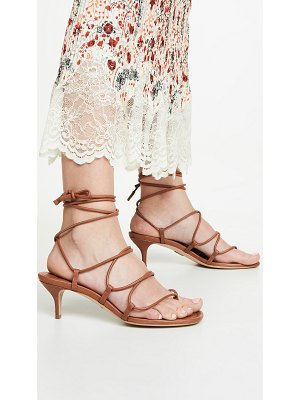 Paul Andrew wrap it up 55mm sandals