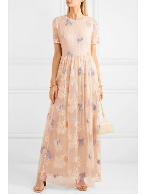 Paul & Joe embellished tulle maxi dress