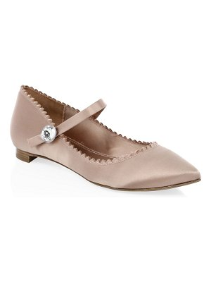 Pedro Garcia ilka scalloped point toe flats