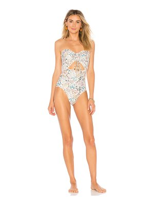 Peony Swimwear Ruched One Piece