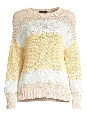 Peserico knit tricolor sweater