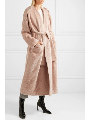 Petar Petrov moscow belted alpaca and wool-blend coat