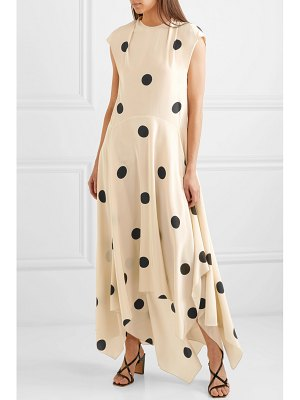 Petar Petrov polka-dot silk crepe de chine midi dress