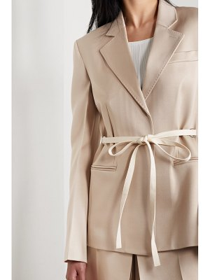 Peter Do belted wool blazer