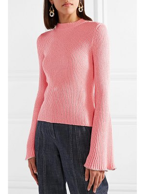 Philosophy di Lorenzo Serafini bead-embellished ribbed-knit sweater