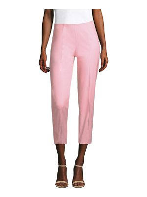 PIAZZA SEMPIONE Audrey Cotton Bi-Stretch Capri Pants