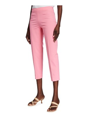 Piazza Sempione Audrey Cropped Cotton Pants