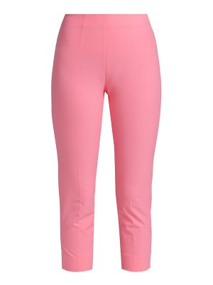Piazza Sempione audrey iconic stretch cotton trousers