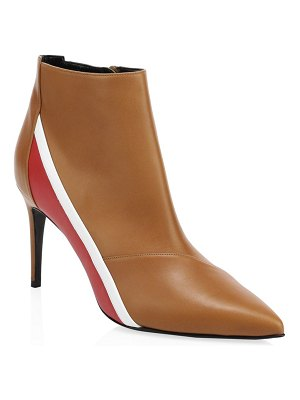 Pierre Hardy alpha leather ankle boots