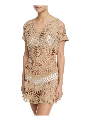 PilyQ Crochet Coverup Tunic