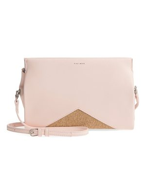 Pixie Mood margaret faux leather crossbody clutch