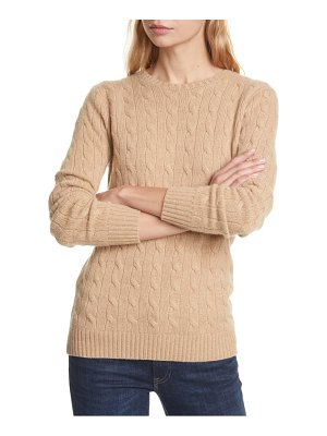 Polo Ralph Lauren cable cashmere sweater
