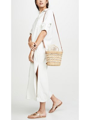 Poolside Bags the mak shell crossbody bag