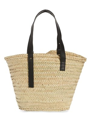 Poolside the essaouira straw tote