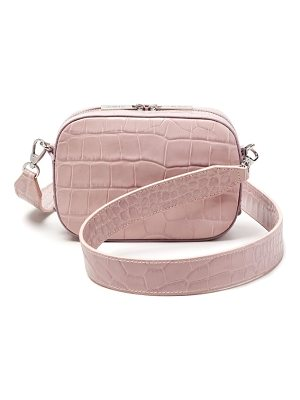 POP & SUKI Croc Embossed Camera Bag