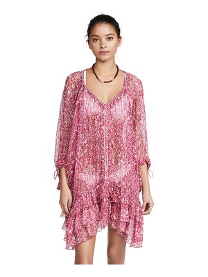 POUPETTE ST BARTH poncho dress