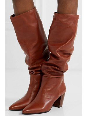 Prada 65 leather knee boots