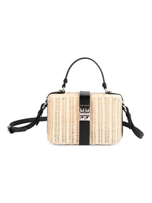 Prada basket crossbody bag