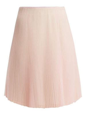 Prada Cigaline pleated skirt