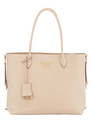 Prada Daino Calf Leather Tote Bag