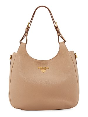 Prada Daino Hobo Shoulder Bag