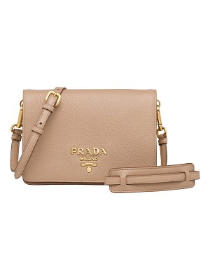 Prada Daino Leather Crossbody Bag