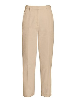 Prada high-rise denim culottes