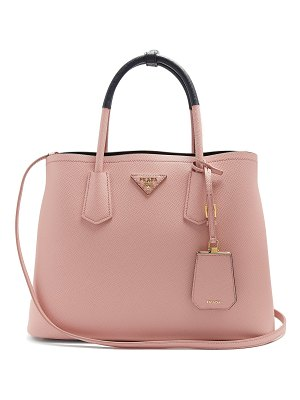 Prada Double saffiano-leather bag