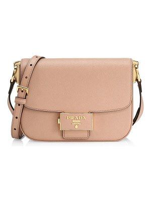 Prada ensemble leather crossbody bag