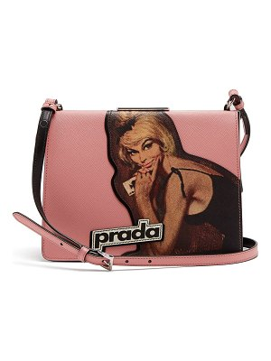 Prada Frame leather bag